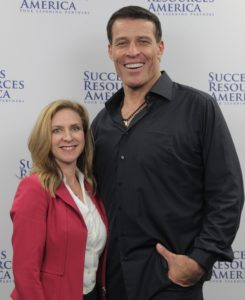 Dr. Matthew with Tony Robbins