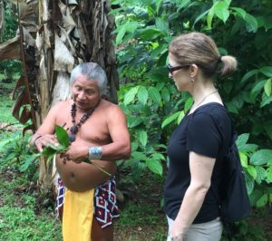 Dr. Matthew with a Medicine Man in Panama